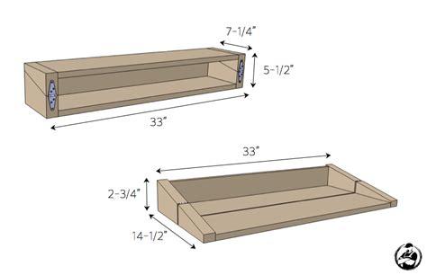 Floating Shelf Plans Free by Entertaining Shelf 187 Rogue Engineer