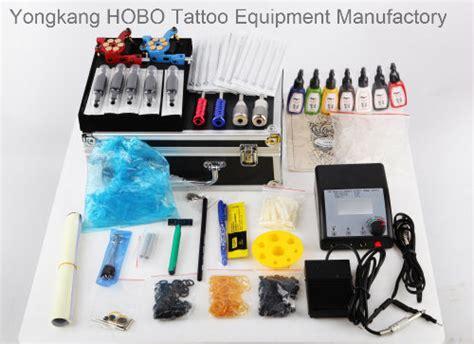 hobo tattoo equipment manufactory kits de tatuagem profissional com uma tatuagem pistola de