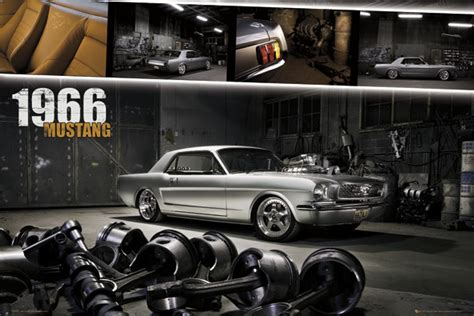 Mustang Auto Poster by Ford Mustang Shelby 1966 Poster Sold At Ukposters