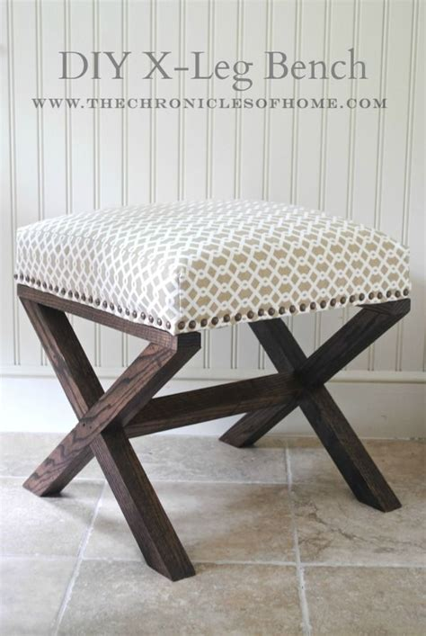 diy upholstered bench seat 25 best ideas about homemade ottoman on pinterest