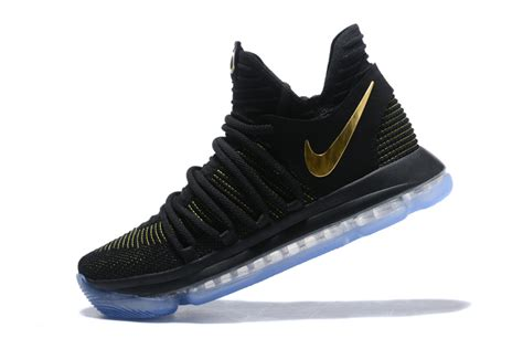 where to buy cheap basketball shoes 2017 cheap nike kd 10 black yellow gold basketball shoes