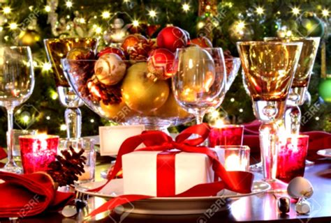 christmas table settings wonderful christmas buffet table decorations ideas