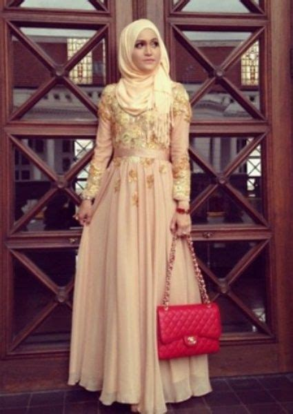 13 model baju dress muslim modern untuk remaja terbaru model baju wisuda muslim modis graduation dress