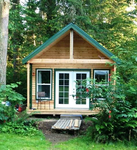 micro cabins for sale 355 sq ft tiny cabin for sale in graham washington
