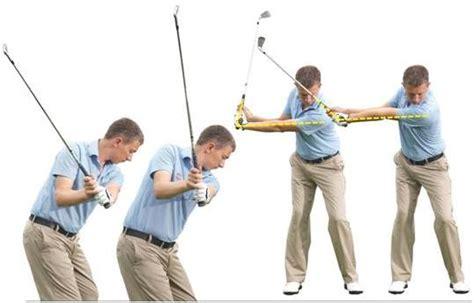 golf swing wrist cocking the arm swing swingstation