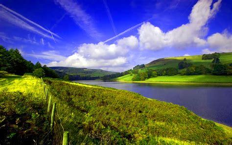 landscape with calm river 1920 x 1200 landscape