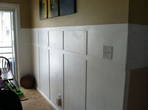 Faux Wainscotting faux wainscoting finished wins
