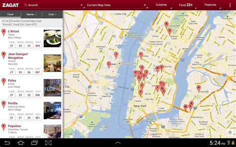 Zagat Search Releases Dedicated Zagat App Shows You Restaurants Near You In And Style