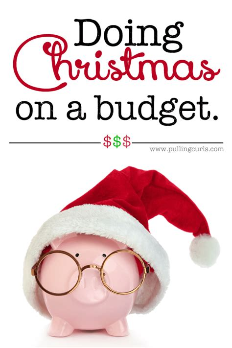 buying christmas gifts on a budget