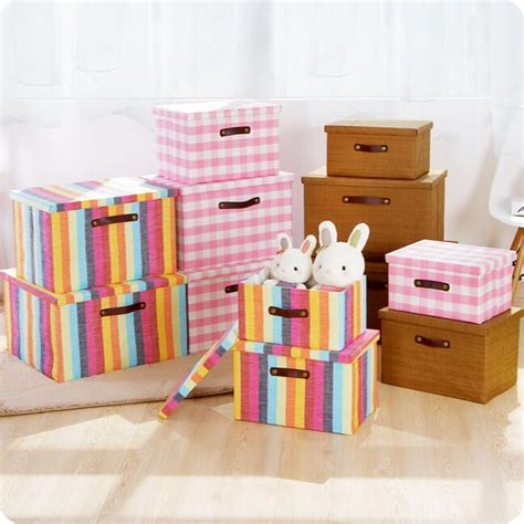 clothing wardrobe box rustic knitted storage box folding wardrobe finishing box