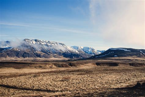 mountains   landscape  iceland image  stock