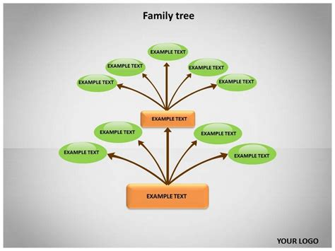 best photos of tree powerpoint template free family tree
