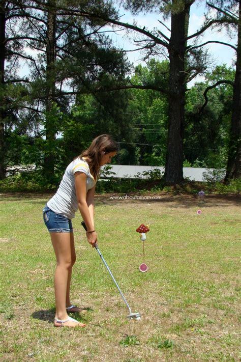 backyard mini golf game backyard mini golf game outdoor goods