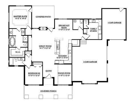 open home plans open floor plan house picture cottage house plans