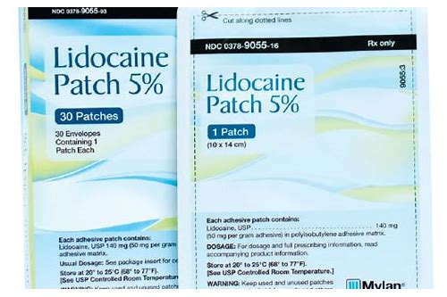 coupons for lidocaine patches