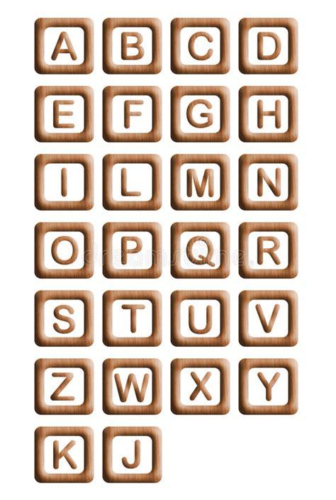 wood blocks alphabet royalty free stock photo image 5845915