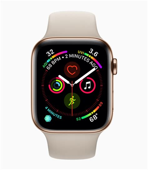 Apple Series 4 Apps by Redesigned Apple Series 4 Revolutionizes Communication Fitness And Health Apple Ca
