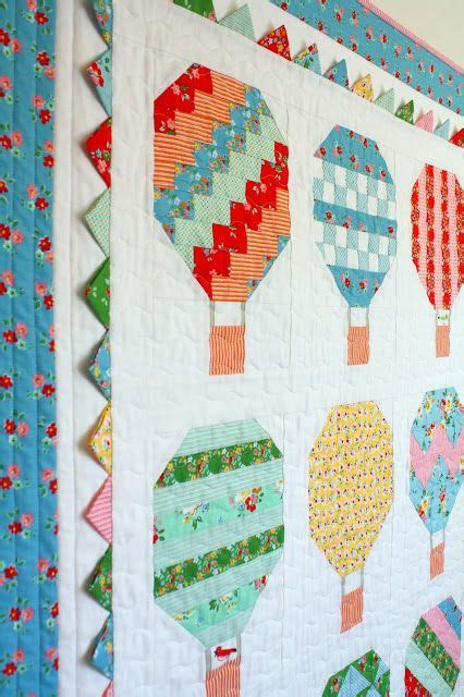 quilt pattern hot air balloon yellow balloons backyards and the demo on pinterest