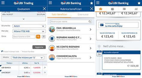banca qui ubi ubi banca rilascia due nuove app sullo store di windows