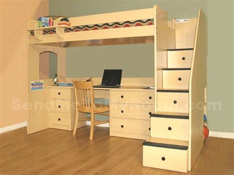 loft bed with desk and drawers pin by kirsty strobridge on tiny houses space saving