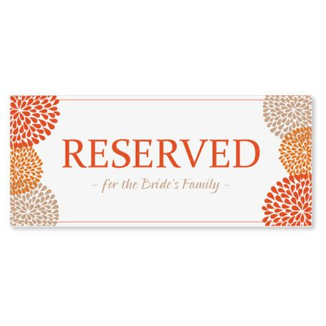 reserved sign template word reserved sign template instantly edit by