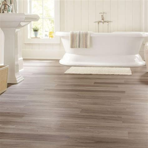 allure flooring in bathroom trafficmaster allure dove maple resilient vinyl plank
