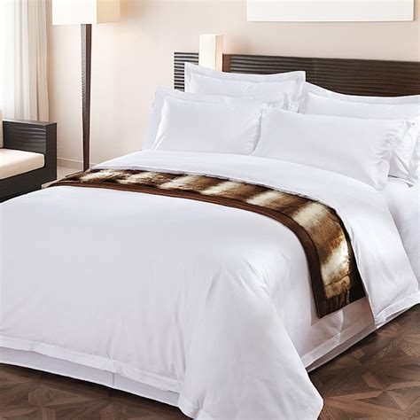 Luxury Hotel Bedding by Wholesale White High Quality Five Hotel 100 Cotton