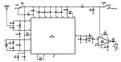 fm radio receiver circuit diagram pdf fm receiver circuit diagram pdf circuit and schematics