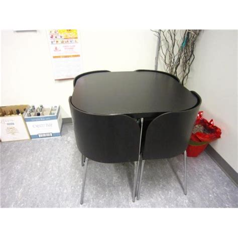 Ikea Fusion Dining Table Ikea Fusion Dining Table And Chairs Allsold Ca Buy Sell Used Office Furniture Calgary