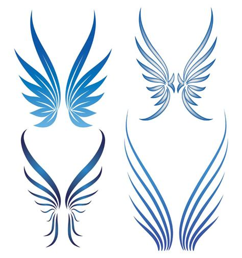 simple angel tattoos simple wings designs elaxsir