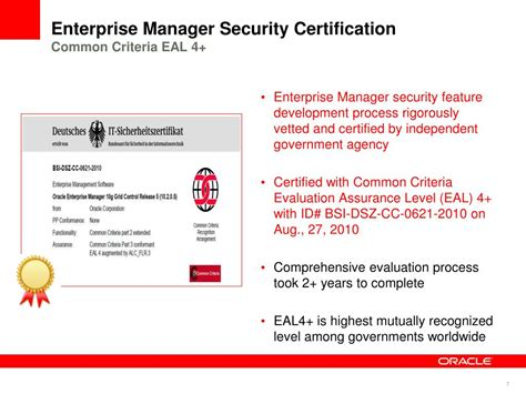 ppt oracle enterprise manager security best practices powerpoint presentation id 325062