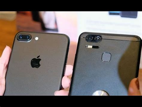 asus zenfone 3 zoom vs apple iphone 7 plus dual cameras