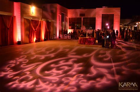 Winter Wonderland Wedding Decor - karma event lighting for weddings and special events