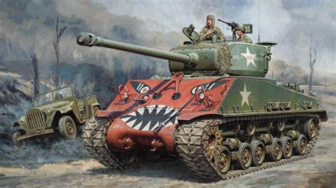 sherman tank   korean war hd wallpaper wallpaper studio  tens  thousands hd