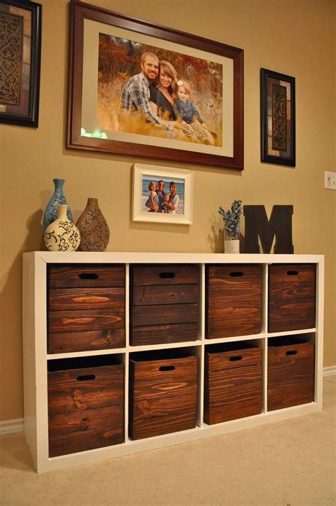 storage furniture trendy wooden storage cubes furniture ideas home
