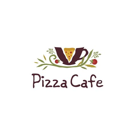 cafe pizza pizza cafe logo cowboy
