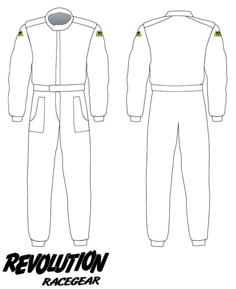 racing suit template revolution racegear