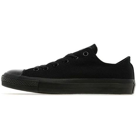 Converse Flexy converse all ox mono s 65 liked on polyvore featuring shoes sneakers black flat