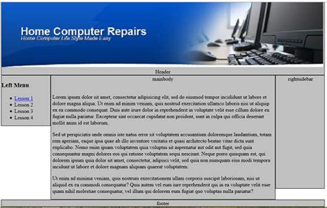 tutorial css kompozer kompozer padding tutorial