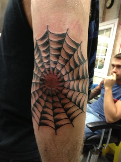 tattoo on elbow spider web tattoos designs ideas and meaning tattoos