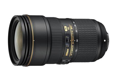 nikon lens nikon af s nikkor 24 70mm f2 8e ed vr lens in stock