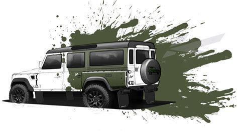 kahn land rover defender 110 kahn design defender 110 concept 23 preview