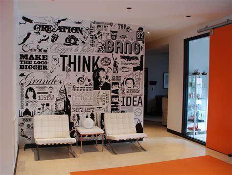 office walls ideas big communications wall graphic doug van wie