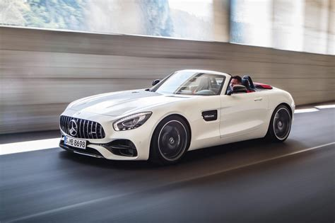 mercedes amg mercedes amg reveals gt roadster and gt c roadster by car