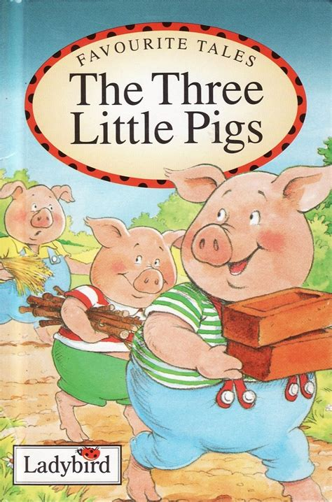 three pigs story book with pictures the three pigs ladybird book favourite tales gloss