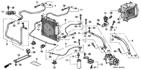 1996 honda civic door wiring diagram wiring diagram and