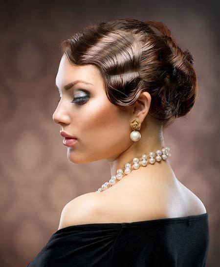 modern vintage wedding hair for women in their fortys 257 best finger wave images on pinterest vintage hair