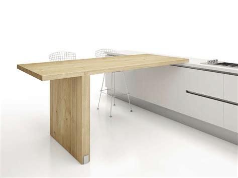 tavoli penisola tavolo a penisola alto da cucina rond 210 by domus arte