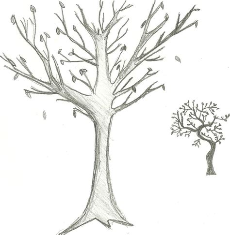 sketched tree tree sketch dump by somethingfishy6 on deviantart