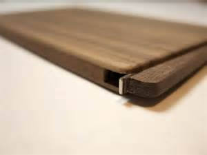 thin business card holder wood business card holder slim walnut